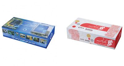 سفارش تولید دستمال کاغذی